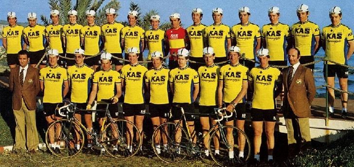 Kas vuelve al pelotón después de tres décadas fuera del ciclismo