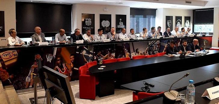 La ACB cierra filas: los 18 clubes votarán hoy en contra de los ascensos en la asamblea general