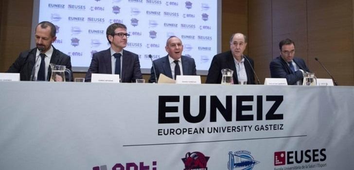 La universidad del Grupo Baskonia-Alavés recibe el visto bueno del Gobierno vasco