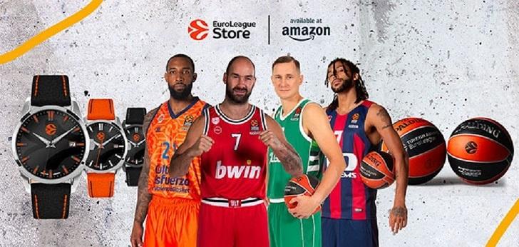 Amazon gana posiciones en baloncesto: distribuirá el 'merchandising' de la Euroliga