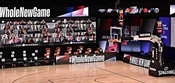 La NBA refuerza su acuerdo con Microsoft para llevar aficionados virtuales a las gradas