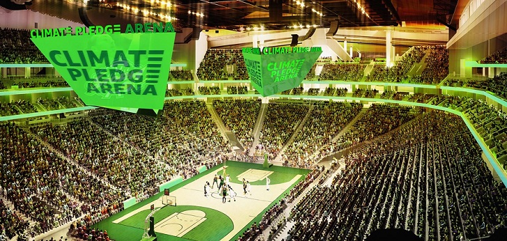 Amazon se hace con el 'naming' del Key Arena de Seattle para NHL y WNBA