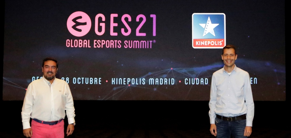 El Global Esports Summit se celebrará en Kinépolis Madrid en octubre