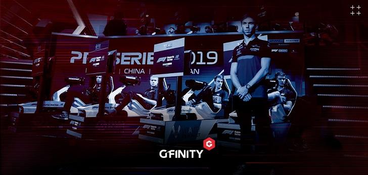La Fórmula 1 renueva tres años más a Gfinity para su competición de eSports