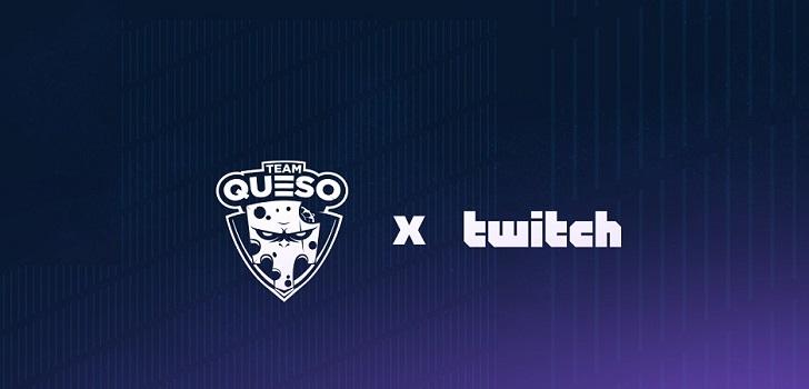 Team Queso se alía con Twitch para promocionarse en Latinoamérica