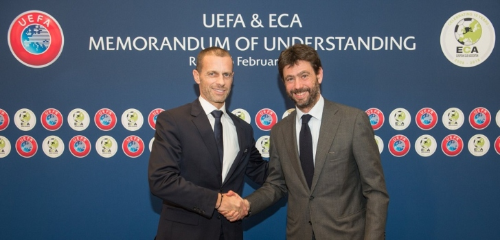Andrea Agnelli dimite como presidente de la ECA