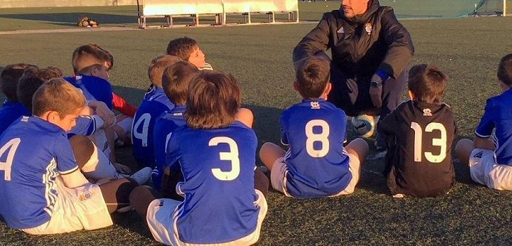El Recreativo de Huelva cancela la temporada de su escuela de fútbol