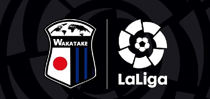 LaLiga se une a Wakatake Group para desarrollar el fútbol base en Japón