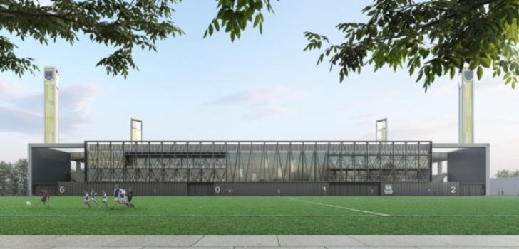 La AD Alcorcón propone al Ayuntamiento invertir tres millones en la reforma y ampliación del estadio de Santo Domingo