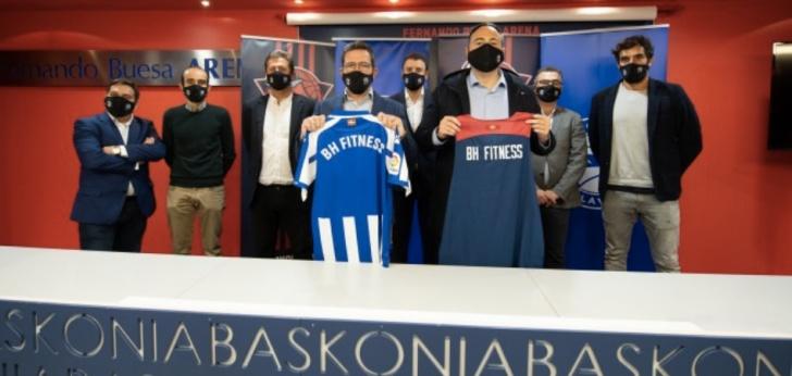El Grupo Baskonia-Alavés firma un patrocinio con BH Fitness