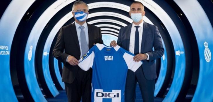 El RCD Espanyol suma a Digi a su 'pool' de patrocinadores para su camiseta