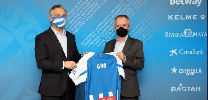 El RCD Espanyol firma con GRO el patrocinio de su pantalón