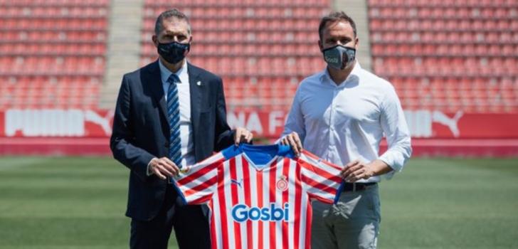 El Girona firma con Gosbi como nuevo patrocinador principal