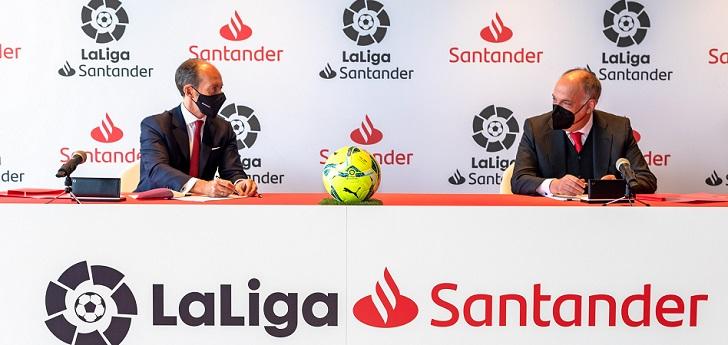 LaLiga renueva con Santander por dos temporadas, con opción a una tercera