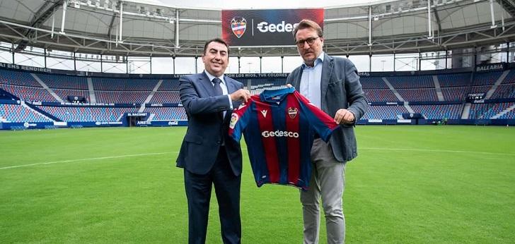 El Levante UD firma con Gedesco como 'main sponsor' para la temporada 2021-2022