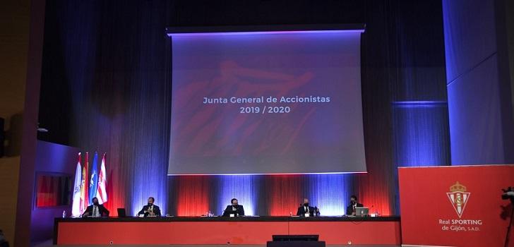 El Sporting de Gijón cierra 2019-2020 plano, pero avanza un déficit de 3,8 millones en 2020-2021
