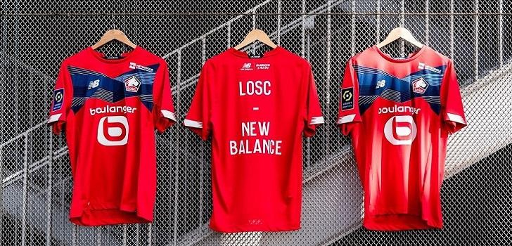 El Lille firma con New Balance el mayor contrato de patrocinio técnico de su historia