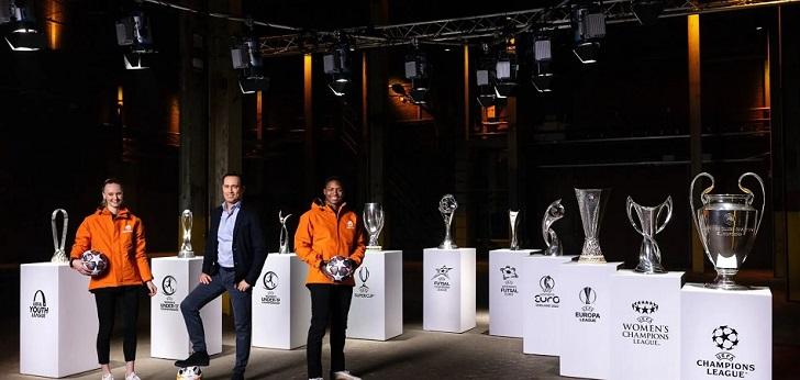 La Uefa refuerza su 'pool' de patrocinios y firma con Just Eat