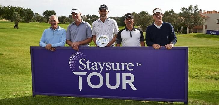 Vuelco en el Staysure Tour: el CEO de la aseguradora toma el control del torneo de golf y cambia su nombre