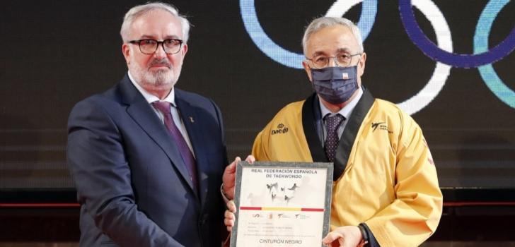 Jesús Castellanos, reelegido presidente de la Federación Española de Taekwondo