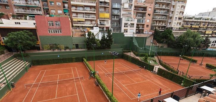 El doble reto de Tennis Barcino: afrontar el Covid-19 tras reconstruir sus instalaciones