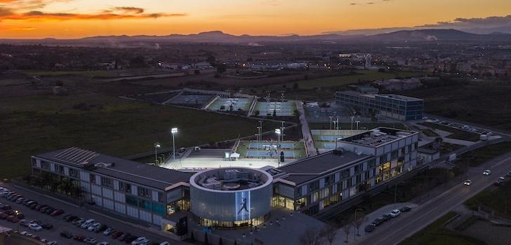 La ATP estudia un campus de competición en la Rafa Nadal Academy by Movistar