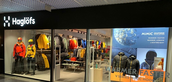 Asics impulsa Haglöfs con tiendas propias y abre en la Península Ibérica