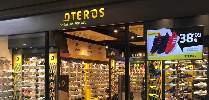 Oteros diversifica y lanza una nueva cadena de 'sneakers'