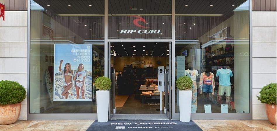 Rip Curl crece en España con su primer outlet en el país