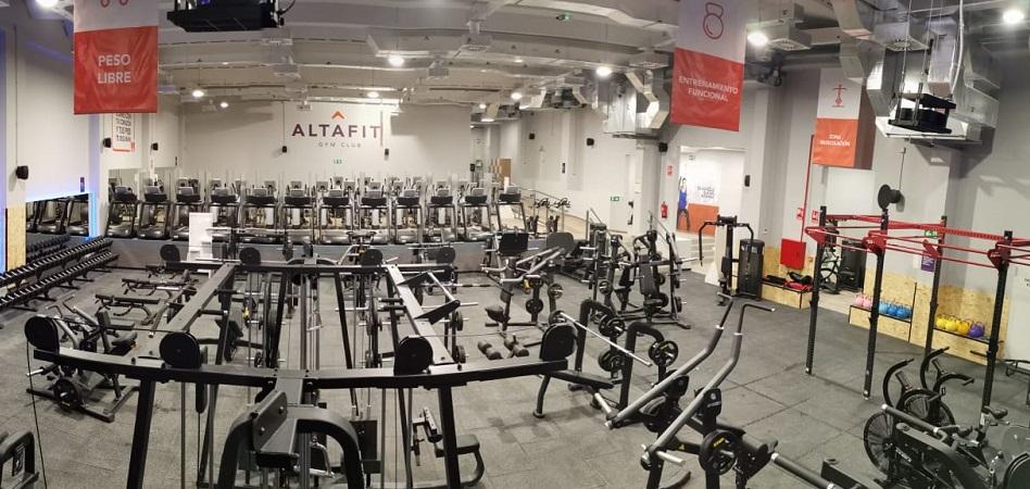 Altafit sigue creciendo pese a la crisis con una nueva apertura en Madrid