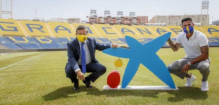 CaixaBank renueva su patrocinio con la UD Las Palmas por dos temporadas