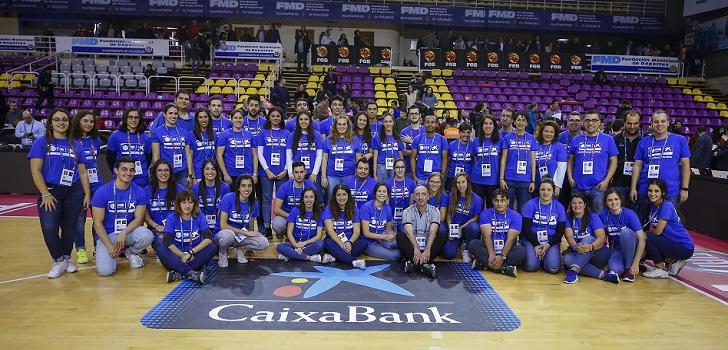 De voluntario a empleado: CaixaBank impulsa la plantilla del baloncesto español