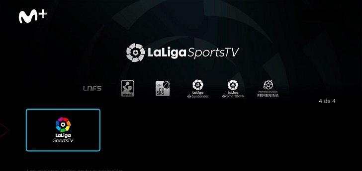 LaLigaSportsTV prosigue su expansión y se alía con Movistar+
