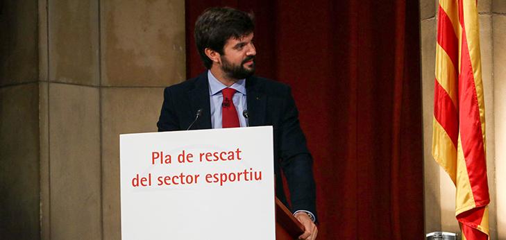 El deporte catalán pide la suspensión cautelar del cierre de gimnasios y centro deportivos