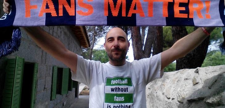 """Emilio Abejón (Fasfe): """"Los ingresos del fútbol deberían repartirse de manera más democrática"""""""