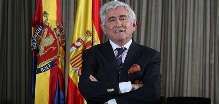 Gonzaga Escauriaza, reelegido como presidente de la Real Federación Española de Golf
