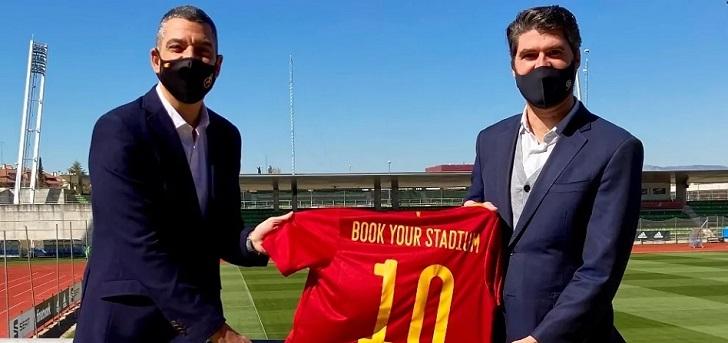Book Your Stadium, con la Federación Española de Fútbol