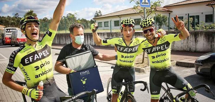 Raw Sport entra en Portugal de la mano del ciclismo