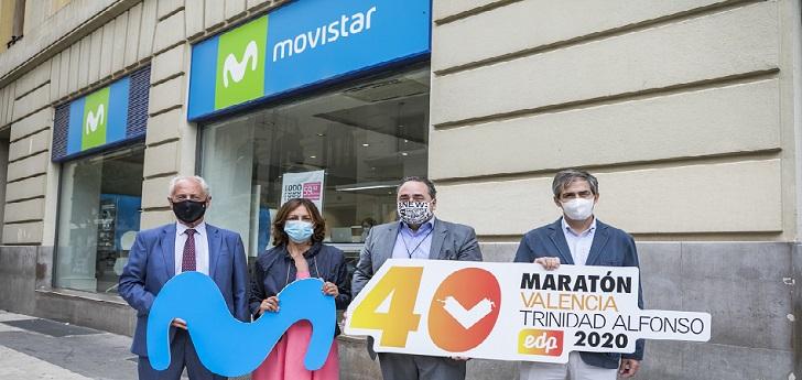 Movistar, nuevo patrocinador tecnológico del Maratón Valencia