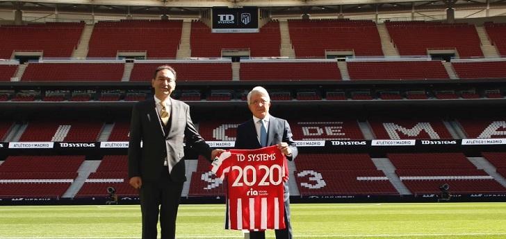 El Atlético de Madrid y TD Systems firman un nuevo acuerdo de patrocinio